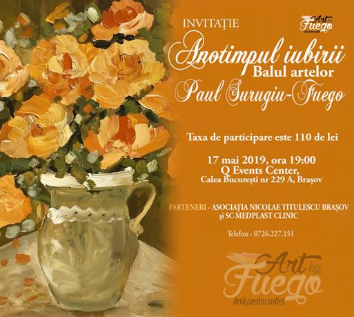 """ANOTIMPUL IUBIRII""  Paul Surugiu-Fuego"