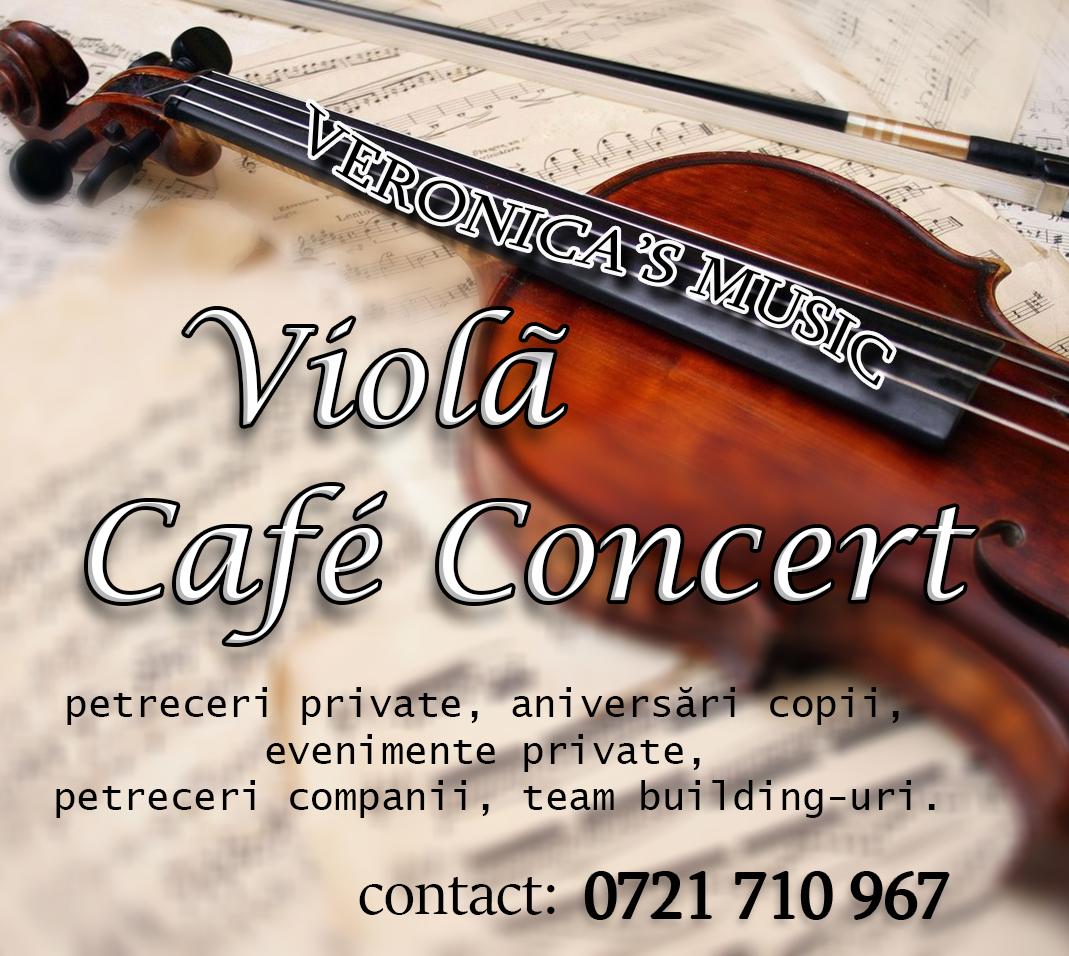 Veronica's Music - Café Concert